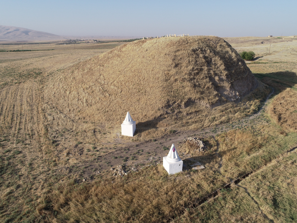 Fig. 24 - Shrines in Tell Mubarak (© Land of Nineveh Archaeological Project 2018)