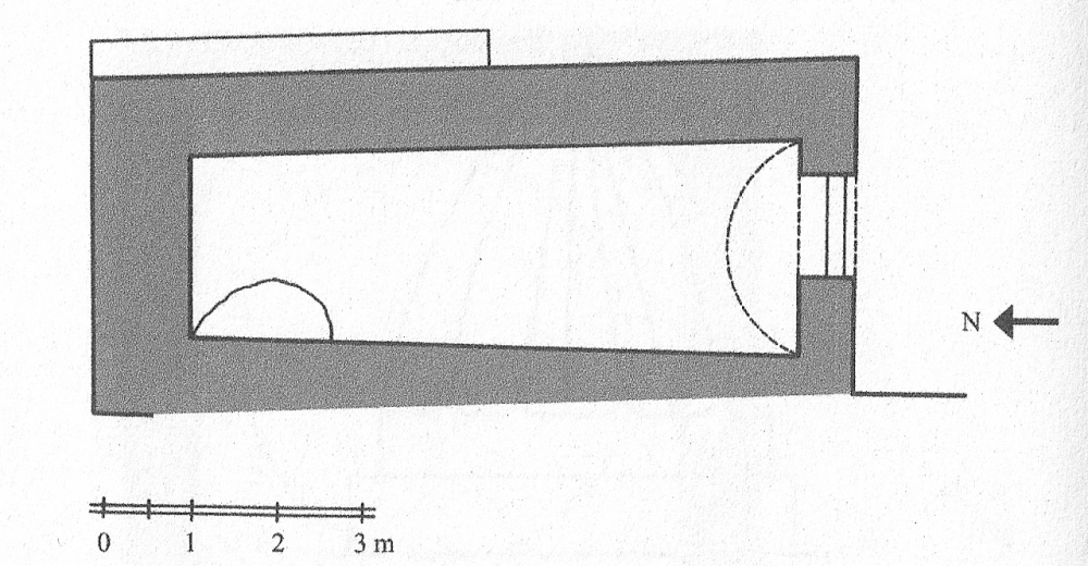 Fig. 51 - Mausoleo pianta rettangolare (Açıkyıldız 2015: Fig. 7)
