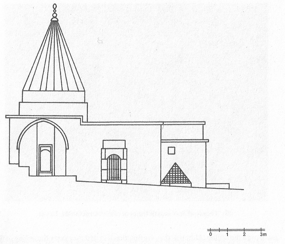 Fig. 59 - Façade of the Baptistery (Açıkyıldız 2015: Fig. 25)